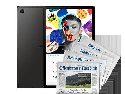 E-Paper + Samsung Galaxy Tab S6 Lite