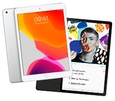 Geräteauswahl: iPad 2019 oder Samsung Galaxy Tab S6 Lite