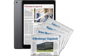 E-Paper + iPad 2020 + Gedruckte Wochenendausgabe